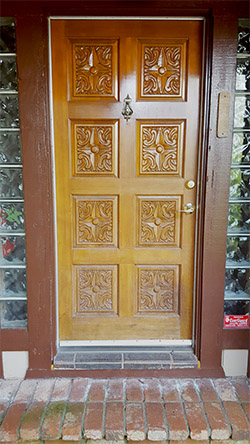 Koinonia House Door