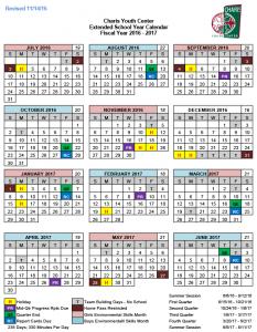 2016-2017 School Calender
